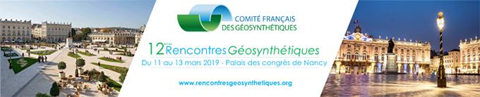 12e  Rencontres Géosynthétiques